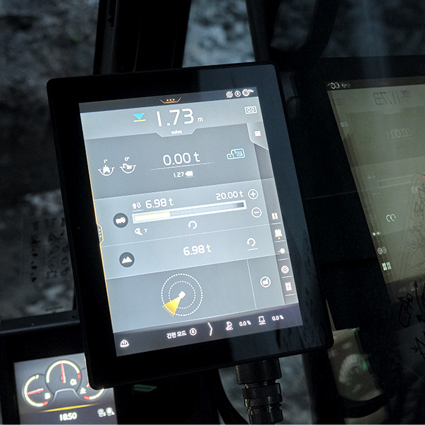 Pelle sur chenilles EC530E / EC550E Volvo CE