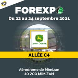 FOREXPO 2021 avec John Deere et Payant