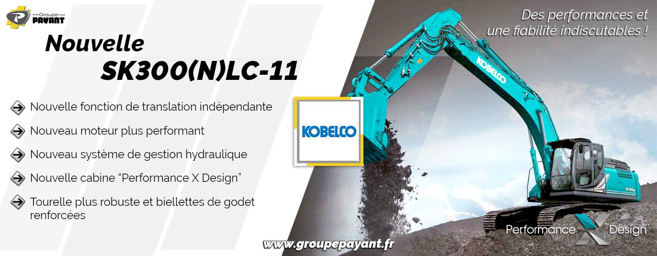 Nouvelle SK300(N)LC-11 KOBELCO !
