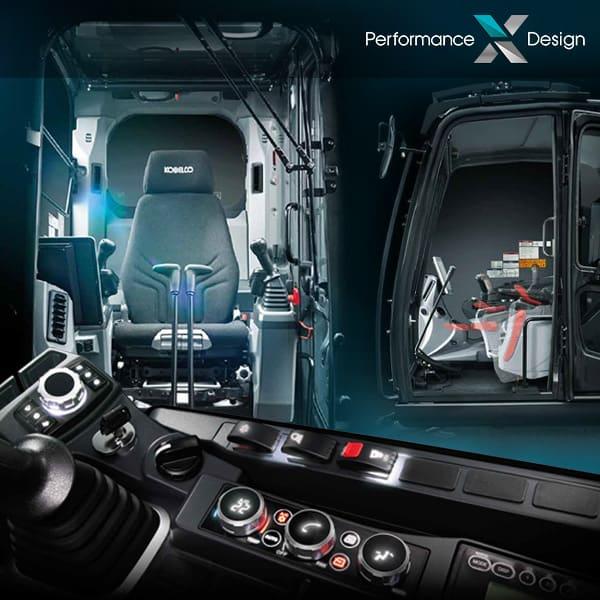 Pelles sur chenilles SK300LC-11 et SK300NLC-11 : confort et ergonomie