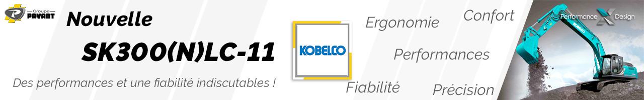 Pelle sur chenilles SK300(N)LC-11 Kobelco - Groupe PAYANT
